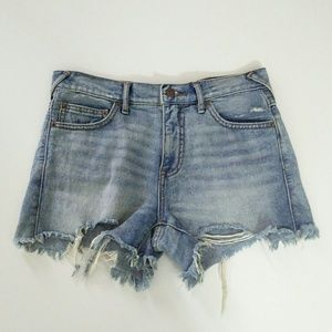 Free People Jeans Cut-offs Size 26